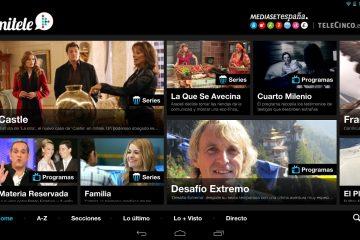 Mitele, a melhor aplicação para assistir ao Telecinco Online