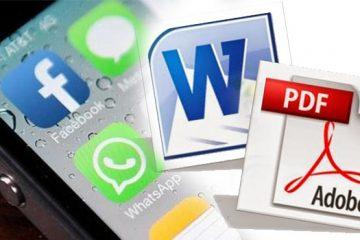 Os melhores aplicativos para converter de PDF para Word