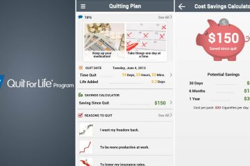 Aplicativos para parar de fumar gradualmente no Android
