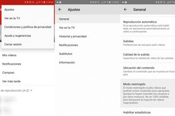 Como ativar o Modo restrito do YouTube no Android?