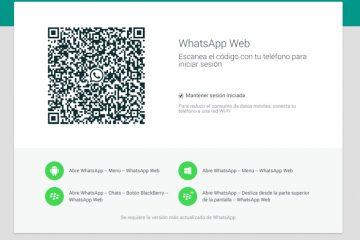 Como atualizar o WhatsApp Web