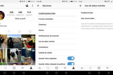 Como salvar dados ao usar o Instagram