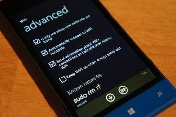 Como aumentar o sinal WiFi no Windows Phone