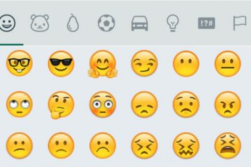Como procurar Emoticons no WhatsApp