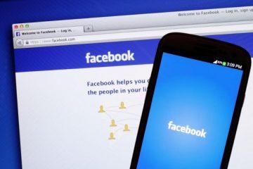 Como mudar seu nome no Facebook a partir do seu celular?