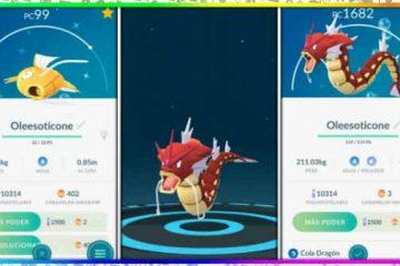 Como Capturar Gyarados Vermelhos no Pokémon Go