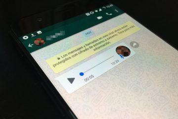 Como converter notas de voz em texto no WhatsApp