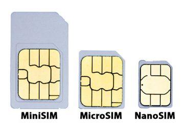 Como cortar um SIM para Micro SIM ou Nano SIM