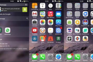 Como baixar o iOS 11 Launcher no Android