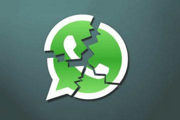 Como desconectar do WhatsApp