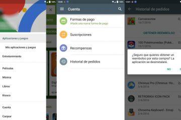 Como devolver aplicativos no Google Play e obter um reembolso