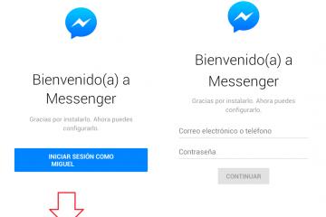 Como excluir a mensagem Não é possível iniciar o Messenger