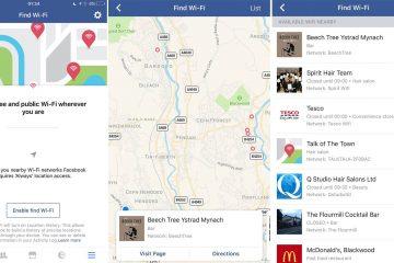 Como encontrar Wi-Fi gratuito no aplicativo do Facebook