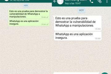 Como enviar uma mensagem para um WhatsApp que me bloqueou?