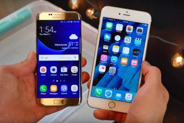Como fazer uma Samsung parecer um iPhone