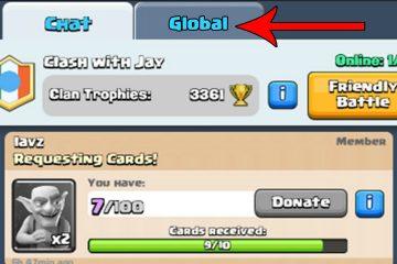 Como colocar imagens no Clash Royale Chat?