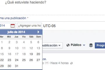 Como agendar uma postagem no Facebook