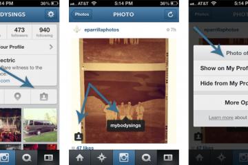 Como remover fotos marcadas no Instagram