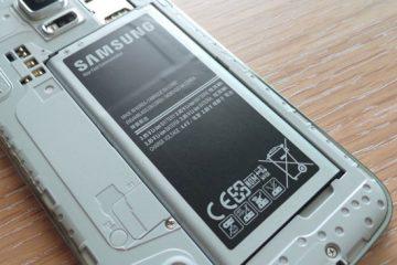 Como reconhecer uma bateria original da Samsung