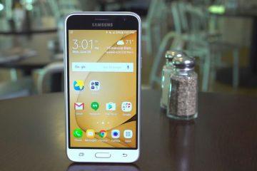 Alterar armazenamento padrão no Samsung J3