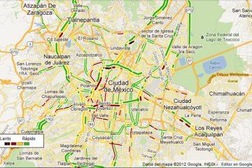 Como visualizar o tráfego no Google Maps