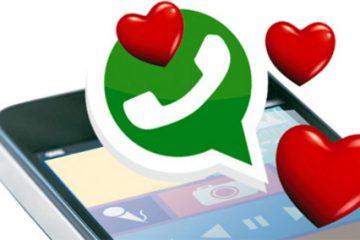 As melhores cadeias de amor para WhatsApp