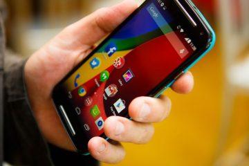 Como alterar a fonte de um Motorola Moto G