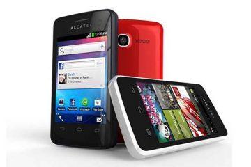 Como tirar uma captura de tela de um Alcatel One Touch 4010a