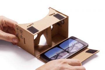 Experimente VR no seu Smartphone com papelão para Android