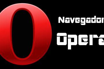 Como instalar o Opera