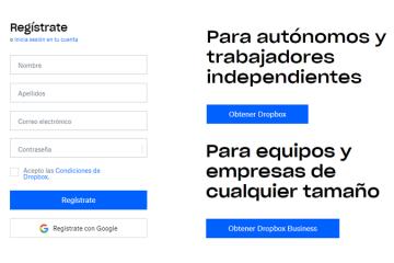 Como criar uma conta Dropbox gratuita, fácil e rápida? Guia passo a passo