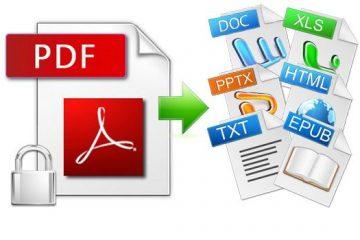 Conversor de PDF para outros formatos
