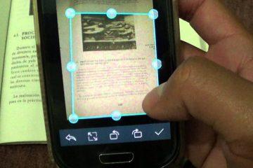 Como converter uma imagem em texto no celular?