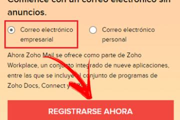 Como criar uma conta de email no Zoho Mail? Guia passo a passo