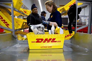 Como rastrear pacotes DHL Express
