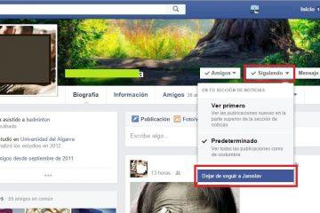 Como ocultar as postagens de um amigo do Facebook sem excluí-las