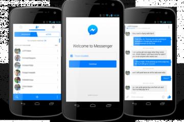 Como desativar o Facebook Messenger no Android?