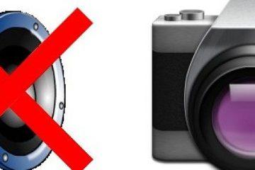 Como desativar o som da câmera no Android?