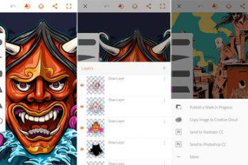 Faça o download do Adobe Illustrator Draw para Android. Crie ilustrações impressionantes