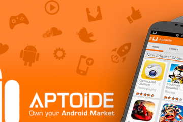 Baixe Aptoide no seu celular