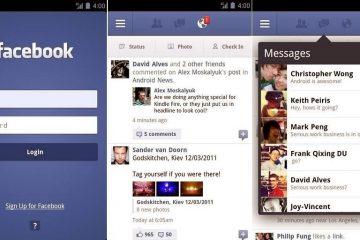 Baixe o Facebook para celular sem Android