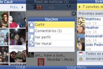 Faça o download do Facebook para celulares Java