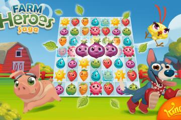 Como baixar Farm Heroes Saga grátis para Android?