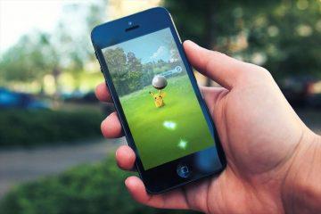 Não consigo andar na solução Pokémon Go!