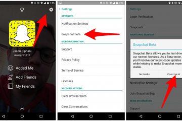 Baixe o Snapchat 10.21.6.0 Beta com novas opções