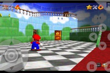 Como baixar Super Mario 64 para Android SEM Emulador