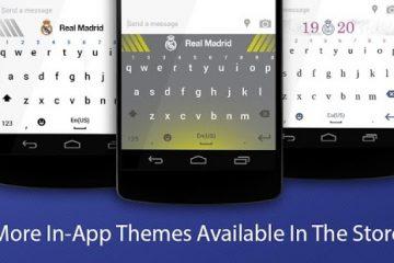 Baixar Real Madrid keyboard para Android grátis