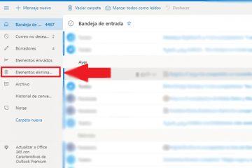 Como recuperar e-mails excluídos longos na sua conta do Hotmail? Guia passo a passo