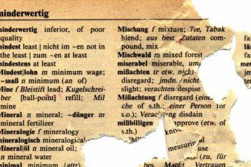 Dicionário alemão para celular