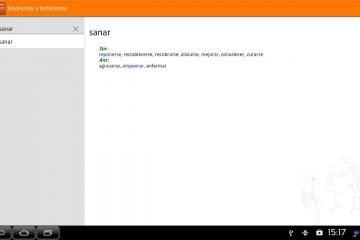 Aplicativos de dicionário de sinônimos para Android e iOS